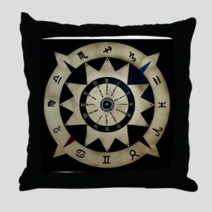 zodiac sign serie II Throw Pillow