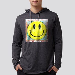 Smiley Face Vintage Long Sleeve T-Shirt