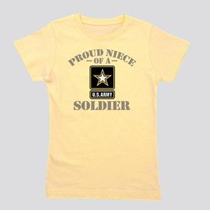 Proud U.S. Army Niece Women's Dark T-Shirt