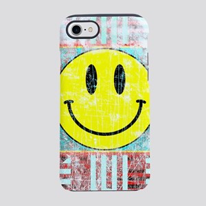 Smiley Face Vintage iPhone 8/7 Tough Case