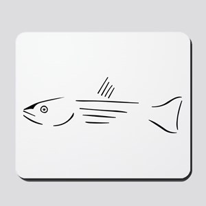 Striped Bass mousepad
