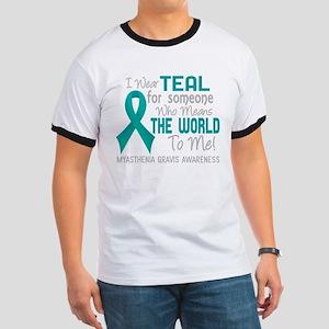 - Myasthenia Gravis Means World To Me 2D T-Shirt