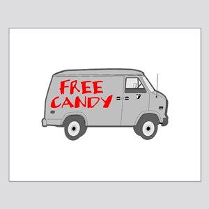 Free Candy Small Poster