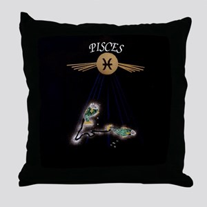 pisces serie II Throw Pillow