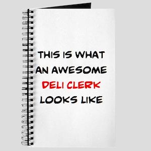 awesome deli clerk Journal