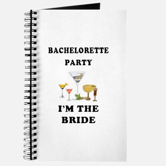Brides Bachelorette Party Journal