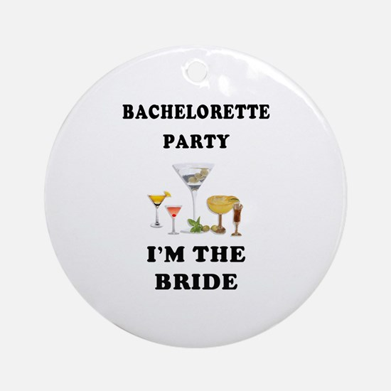 Brides Bachelorette Party Ornament (Round)