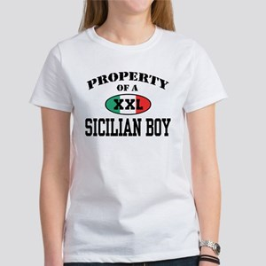 Property of a Sicilian Boy Women's Dark T-Shirt