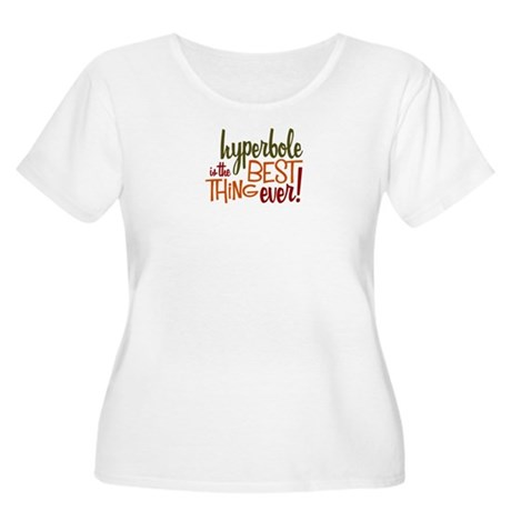 Hyperbole Women's Plus Size Scoop Neck T-Shirt