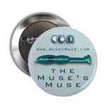"""Muse's Muse 2.25"""" Button (10 pack)"""