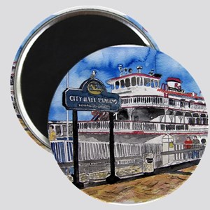 savannah queen river boat Geo Magnet