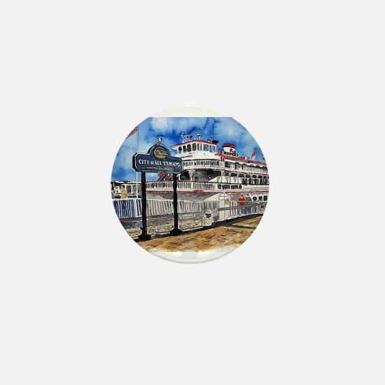 savannah queen river boat Geo Mini Button