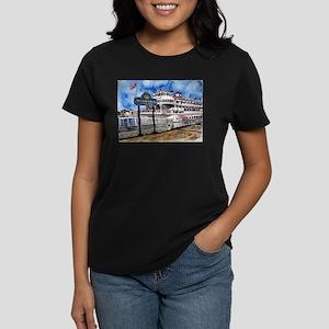 savannah queen river boat Geo Women's Dark T-Shirt