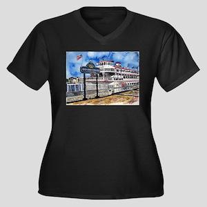savannah queen river boat Geo Women's Plus Size V-