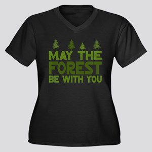 May the Forest.. Plus Size T-Shirt