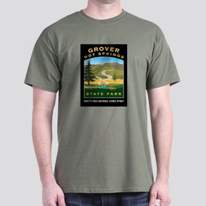 Grover Hot Springs - Dark T-Shirt