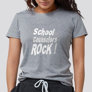School Counselors Rock ! Women's Dark T-Shirt