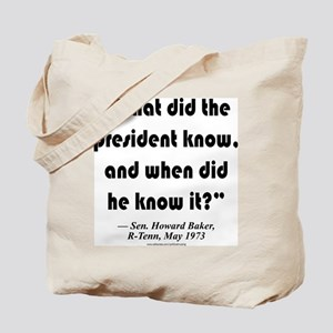 What and when Tote Bag