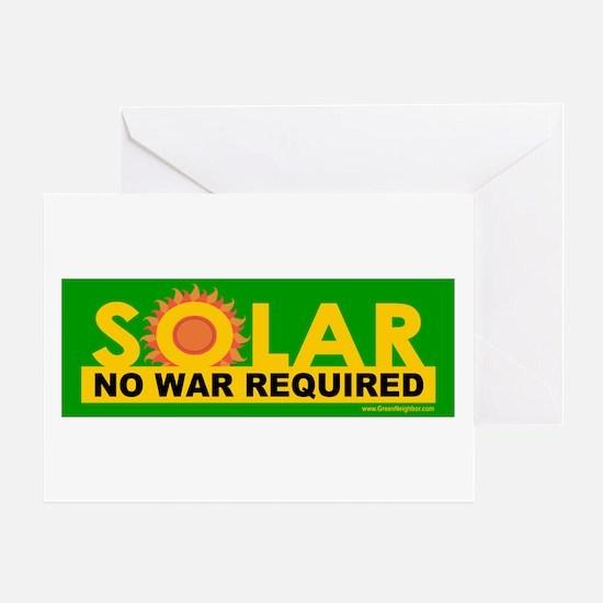 Solar ... Anti-War Greeting Card
