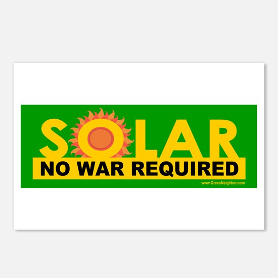 Solar ... Anti-War Postcards (Package of 8)