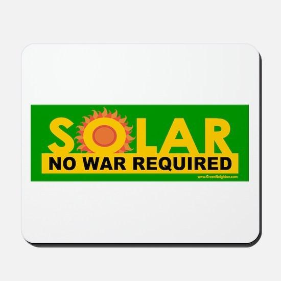 Solar ... Anti-War Mousepad