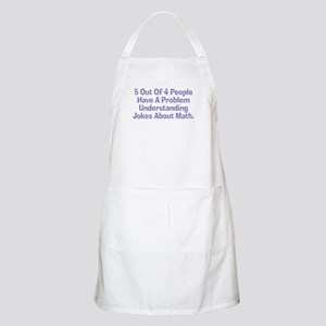 Math Jokes BBQ Apron