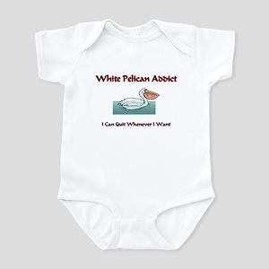 White Pelican Addict Infant Bodysuit