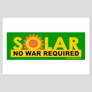 Solar ... Anti-War Large Poster