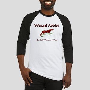 Weasel Addict Baseball Jersey