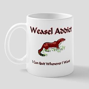 Weasel Addict Mug