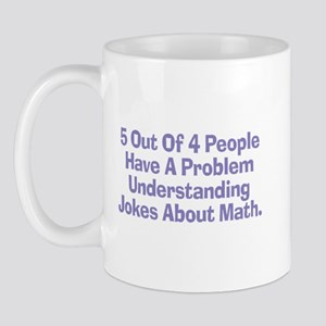 Math Jokes Mug