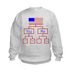 Let's Make A Change Kids Sweatshirt