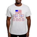 Let's Make A Change Light T-Shirt