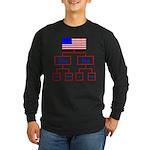 Let's Make A Change Long Sleeve Dark T-Shirt