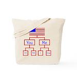 Let's Make A Change Tote Bag