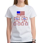 Let's Make A Change Women's T-Shirt