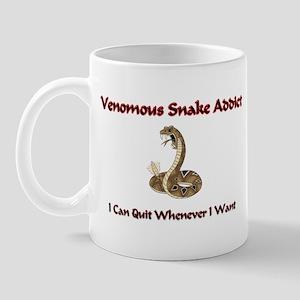 Venomous Snake Addict Mug