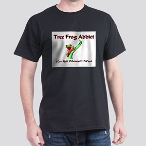Tree Frog Addict Dark T-Shirt