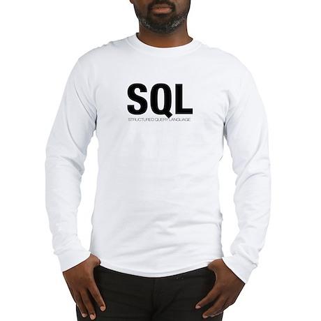 SQL Long Sleeve T-Shirt