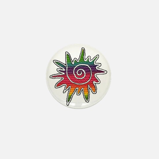 Rainbows Mini Button
