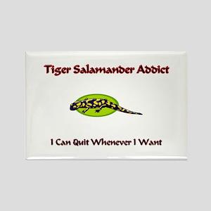 Tiger Salamander Addict Rectangle Magnet