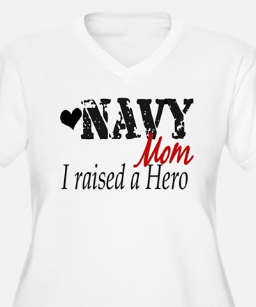 Navy Raised Hero T-Shirt