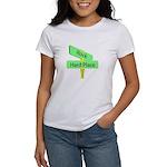 Crossroads: Rock and a Hard Women's T-Shirt