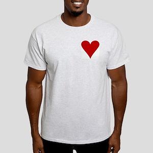 Hearts! Ash Grey T-Shirt