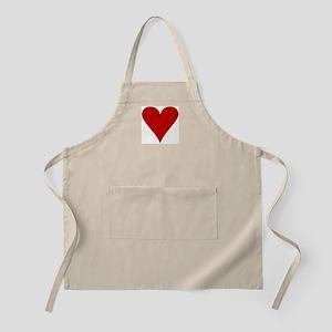 Hearts! BBQ Apron