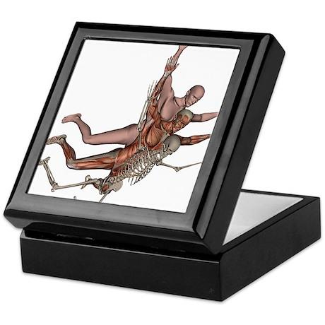 Muscles, Bones and Skin Keepsake Box
