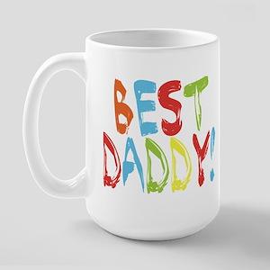 Best Daddy Large Mug