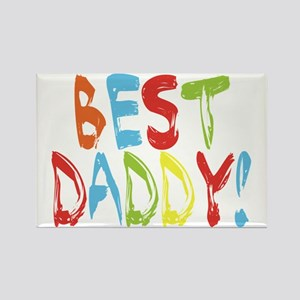 Best Daddy Rectangle Magnet