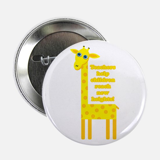 "Cute Teacher Gift 2.25"" Button"