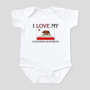I Love My California Boyfriend Infant Bodysuit